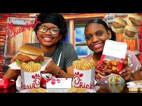 CHICK FIL A MUKBANG! SPICY CHICKEN TENDERS, FRIES, SANDWICHES & MORE!