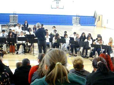 Pinole Middle School Concert part 1