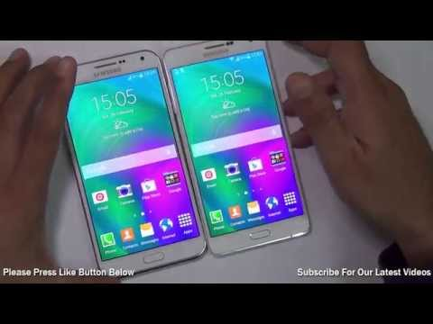 Samsung Galaxy E7 VS Galaxy A7 Comparison- Which Is Better And Why?