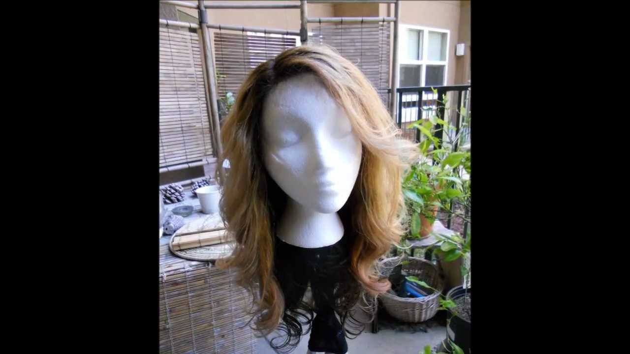 Dyeing Dark Remy Wig To Blonde A Chemical Marathon Youtube