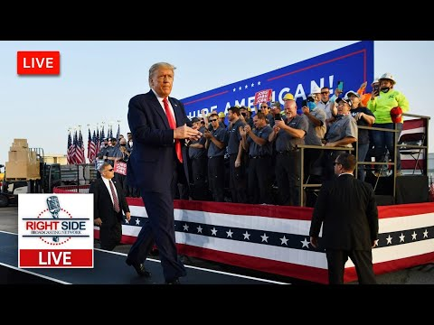 🔴 Watch LIVE: President Trump Holds Make America Great Again Rally in Manchester, NH 10-25-20