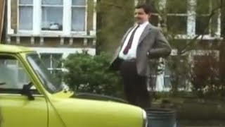 Stuck in his Mini | Mr Bean Official