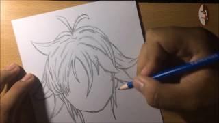 Speed Drawing - Meliodas (Nanatsu no Taizai/ The Seven Deadly Sins)
