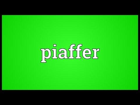 Header of piaffer