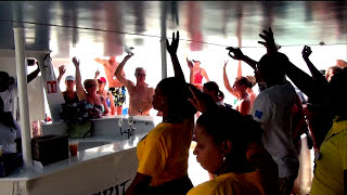 St. Lucia - Soufriere Catamaran Party