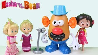 Patates Adam Oyuncak Açılışı Mr Potato Head Patates Adam Head Niloya ve Maşa Şarkı Söylüyor