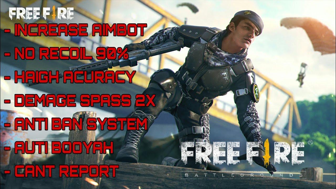 Download MOD FREE FIRE NO RECOIL 90% / FAST KILL /EASY
