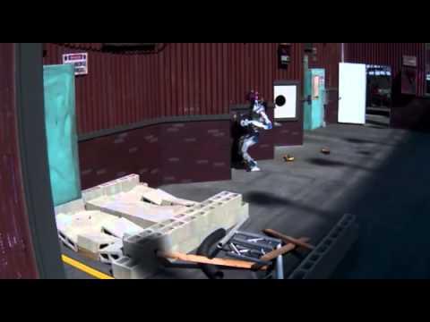 Korea's Team KAIST robot completes tasks at the 2015 DARPA Robotics Challenge (fast motion)