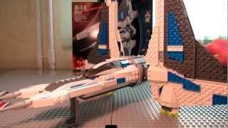 Lego Star Wars 9525 Pre Vizsla's Mandalorian Fighter Review