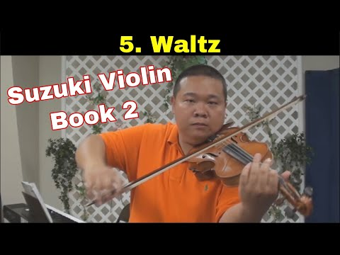 Suzuki Violin School - Book 2 - Waltz