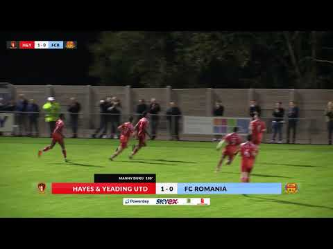 Hayes & Yeading v FC Romania - 19th Sept 2017