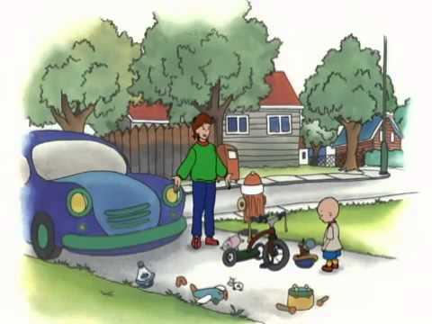 Caillou Tidies His Toys  S01E05 subtitles