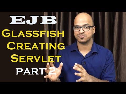 EJB Message Driven Bean Glassfish Creating Servlet Part 5