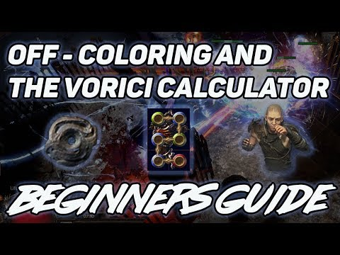 Off Coloring And The Vorici Calculator