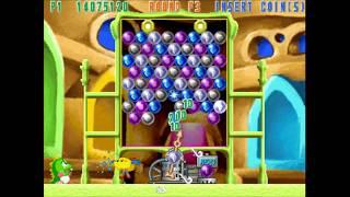 Super Puzzle Bobble (Arcade, 1999) (1cc)