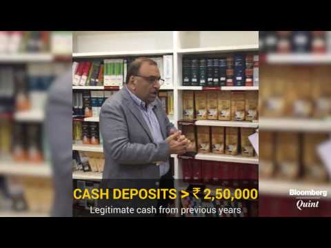 Cash Deposit More Than Rs 2,50,000 = Tax Inquiry?