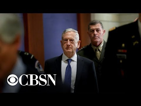 Defense Secretary Mattis resigns, citing policy disagreements with President Trump