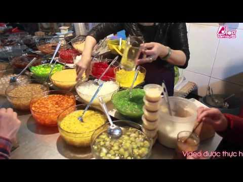 [Ẩm thực] Chè thập cẩm ngõ chợ Đồng Xuân