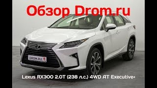 Lexus RX300 2018 2.0T (238 л.с.) 4WD AT Executive+ - видеообзор