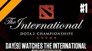 Day[9] Learns Dota - Watching The International Dota 2 Championships P1