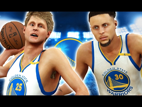STEPH CURRY VS STEVE KERR | ULTIMATE SHOOTING COMPETITION | NBA 2K17 CHALLENGE
