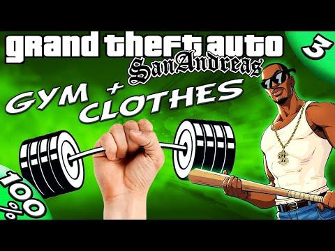 GTA San Andreas [:3:] Gym and Clothing [100% Walkthrough]