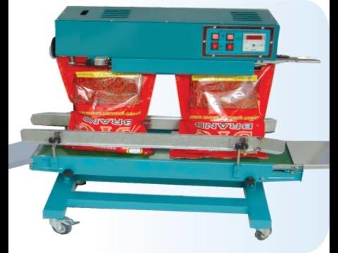 small polyester pouch &  Bag big LD , HM bag , 5kg , 10kg, 25kg, 100kg, bag  Sealing Machine