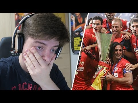 REACCIONANDO A LA FINAL DE LA UEFA ESPANYOL VS SEVILLA