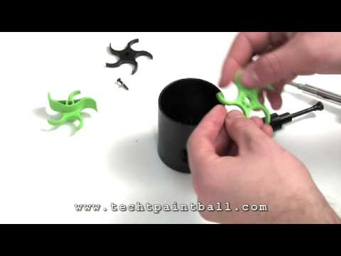 X7 Squishy Paddles : Installing TechT Squishy Paddles - YouTube