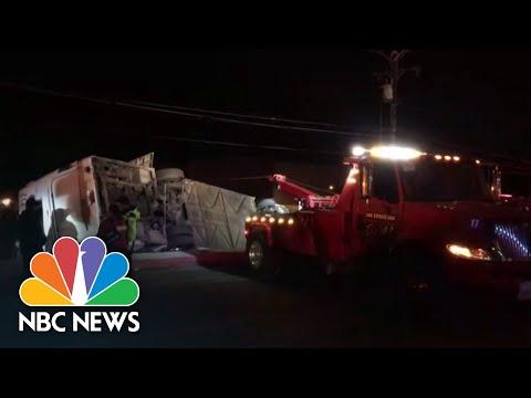 Mexico Bus Crash Kills At Least Seven, Injures Dozens