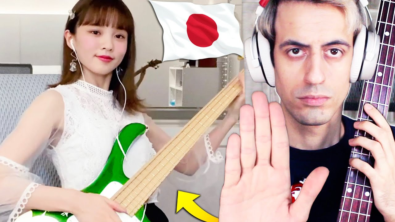 This Japanese Bassist Must Be STOPPED (Bass Battle)