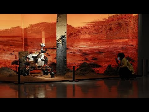 فيديو: الصين تنزل روبوتا صغيرا على سطح المريخ  - 10:54-2021 / 5 / 15