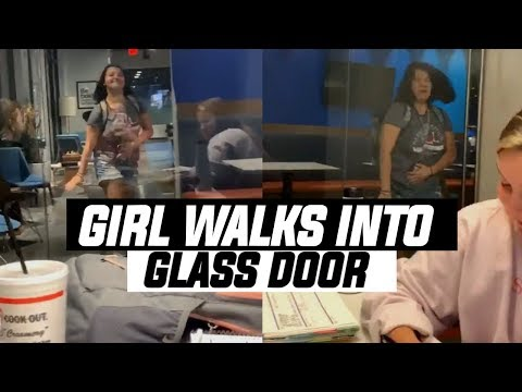 Muss - Girl Walks Into Glass Door - You're Welcome On A Friday