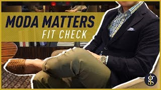 MODA MATTERS REVIEW (Gianni Blazer + Enzo Chinos First Look)