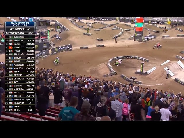 Adam Cianciarulo wins the 2019 Monster Energy Cup