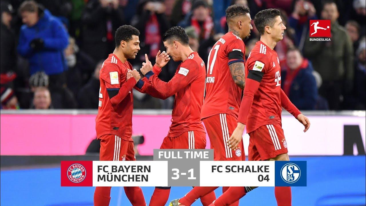 Bayern Munich 3 1 Schalke 04 All Goals Highlights