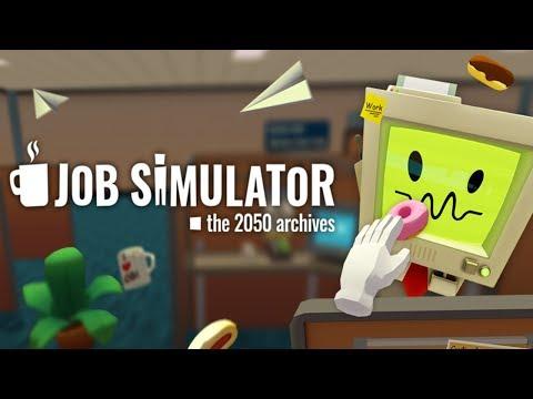 VR стрим - Симулятор работы и ВР хоррор!