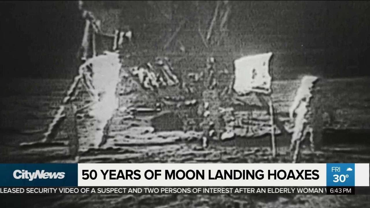 Many still convinced moon landing was a hoax - YouTube