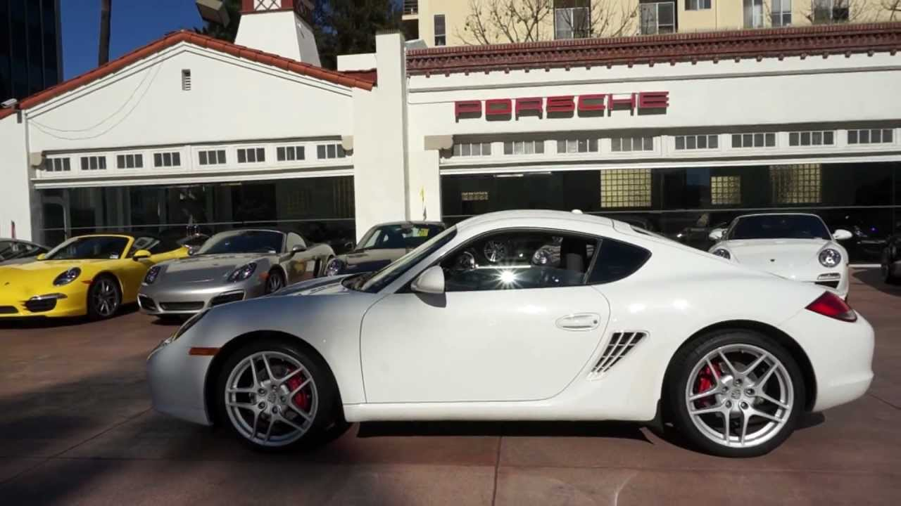 2011 Porsche Cayman S White with Black now available in Beverly ...