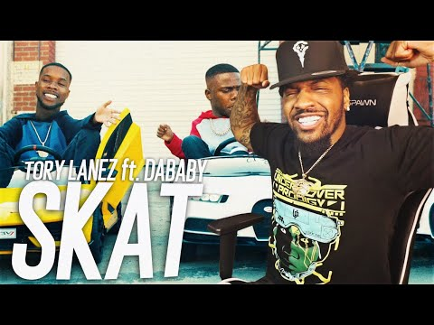 THIS VIDEO IS CRAZY! | Tory Lanez – SKAT (feat. DaBaby) (REACTION!!!)