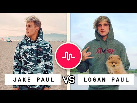 Thumbnail: NEW Jake Paul vs Logan Paul Musical.ly Battle / Who's the Best