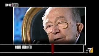 Giorgio Ambrosoli e Michele Sindona,  i protagonisti di  un duello,  che finirà nel sangue