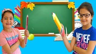Masal & Öykü Pretend Play Choosing Teacher Profession for Kids