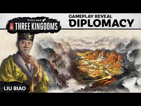 Total War: THREE KINGDOMS – Diplomacy Gameplay Reveal (Part 1)