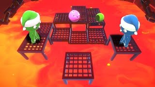 DON'T TOUCH THE LAVA GAME! (Party Panic)