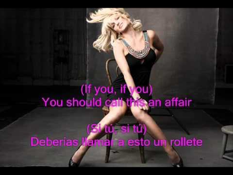 Britney spears Kiss you all over subtitulos español ingles