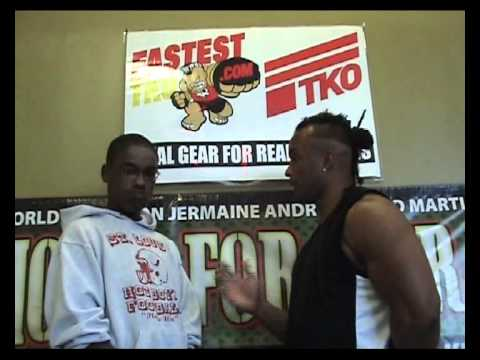 DARRYL COBB JR INTERVIEW WITH JERMAINE ANDRE