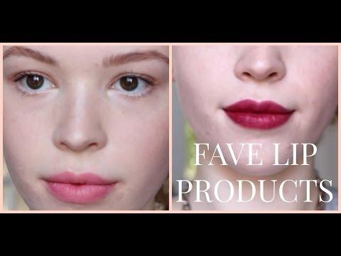 My Fave Drugstore Lip Products | Ariel Lauren