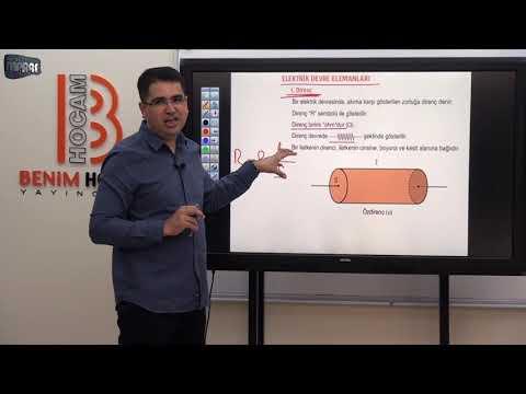 23) Mustafa MARAŞ  -Elektrik Akımı Ve Devreler-1 (TYT- FİZİK) 2020