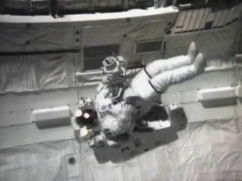 TPAD In Use - Solar Max Repair Space Shuttle STS 41 C Post-Flight Press Conference 1984